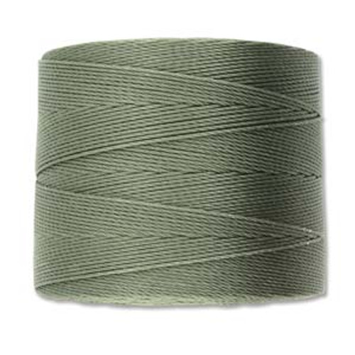 S-Lon Bead Cord, Olive  (TEX 70, Micro Weight) (262 yd)