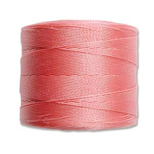 S-Lon Bead Cord, Rose  (TEX 70, Micro Weight) (262 yd)