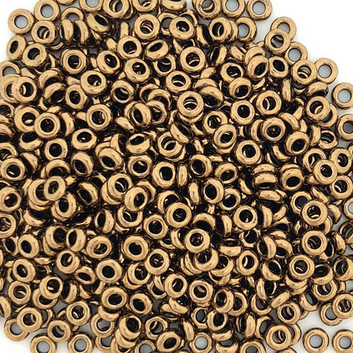 Size 8 Demi Rounds, 0457G, Bronze (Toho 221) (10 gr.)