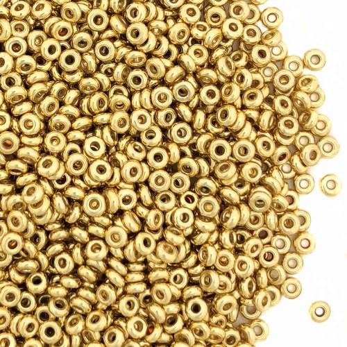 Size 11 Demi Rounds, P0471, PermaFinish Gold (Toho PF557F) (10 gr.)