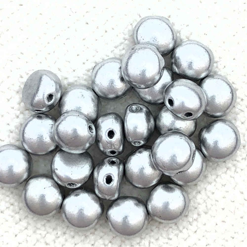 6mm Candy Beads, Aluminum Bronze (Qty: 25) (CAN-020)