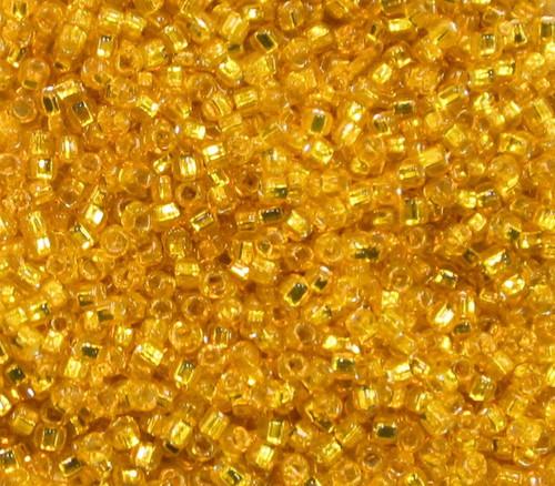 15-0008, Silver-Lined Light Orange (14 gr.)