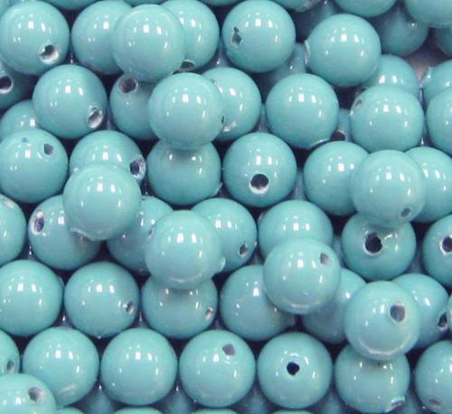 4mm Swarovski Pearls, Turquoise (Qty: 50)