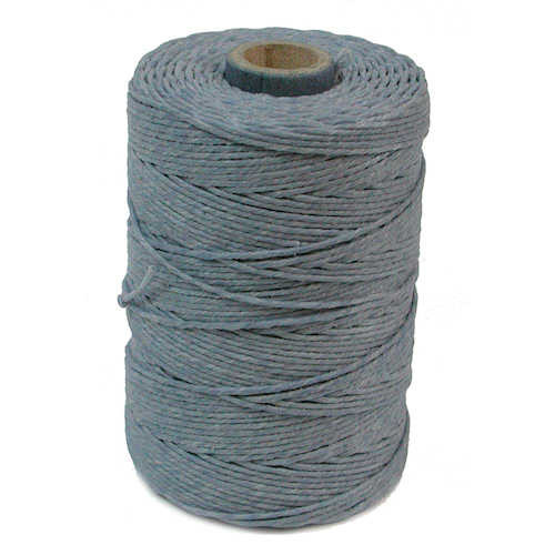 Irish Waxed Linen, 4-Ply, Denim (10 yards)