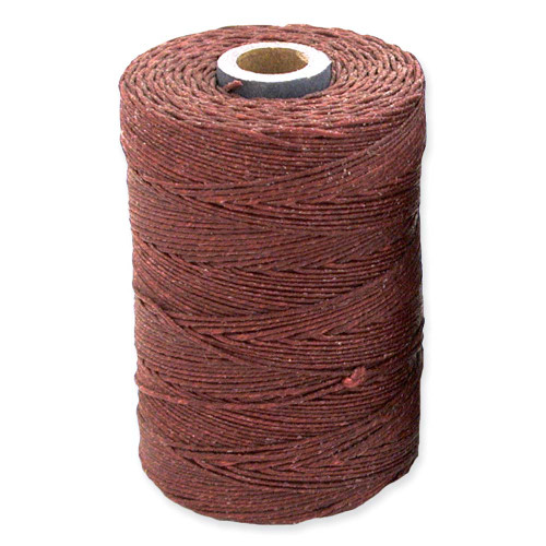 Irish Waxed Linen, 4-Ply, Maroon (10 yards)