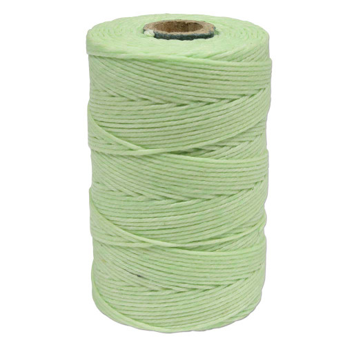 Irish Waxed Linen, 4-Ply, Mint Green (10 yards)