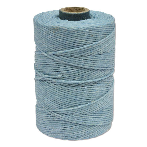 Irish Waxed Linen, 4-Ply, Robin Egg Blue (10 yards)
