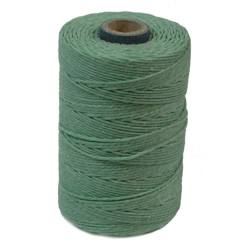 Irish Waxed Linen, 4-Ply, Sage (10 yards)