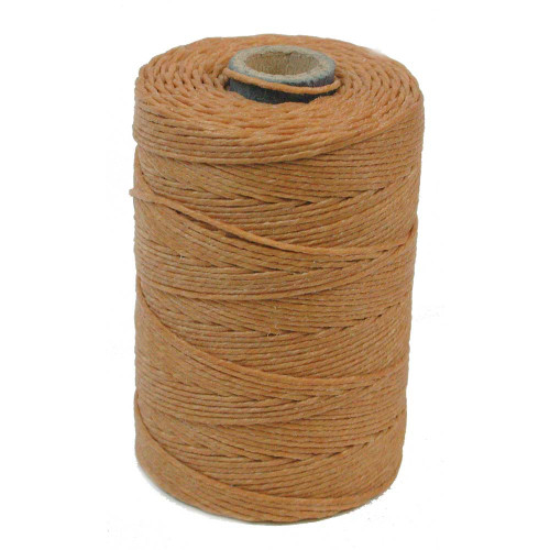 Irish Waxed Linen, 7-Ply, Butterscotch (10 yards)