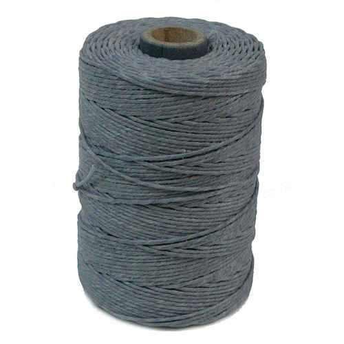 Irish Waxed Linen, 7-Ply, Denim (10 yards)