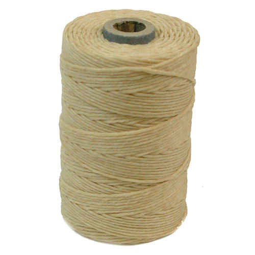 Irish Waxed Linen, 7-Ply, Natural (10 yards)