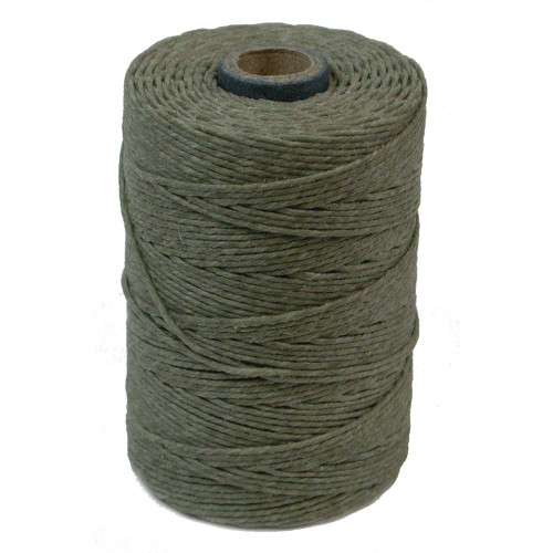 Irish Waxed Linen, 7-Ply, Olive Drab (10 yards)