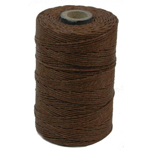 Irish Waxed Linen, 7-Ply, Walnut Brown (10 yards)