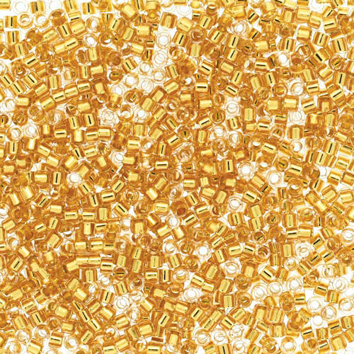 Size 11, DB-2521, Warm Gold 24k Gold-Lined (10 gr.)