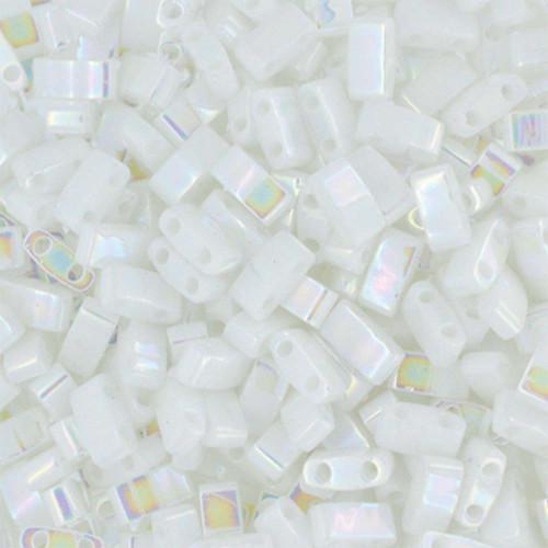 Half Tilas, Opaque Pearl White, Color 0471 (10 gr.)