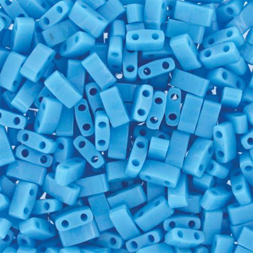 Half Tilas, Opaque Turquoise Blue, Color 0413 (10 gr.)