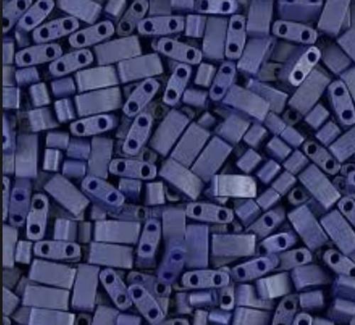 Half Tilas, Matte Opaque Cobalt Blue, Color 2075 (10 gr.)
