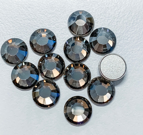 Factory Pack! Crystal Satin Swarovski Flat Back Crystals, Article 2028, SS 40, Non-HotFix (Qty: 144)