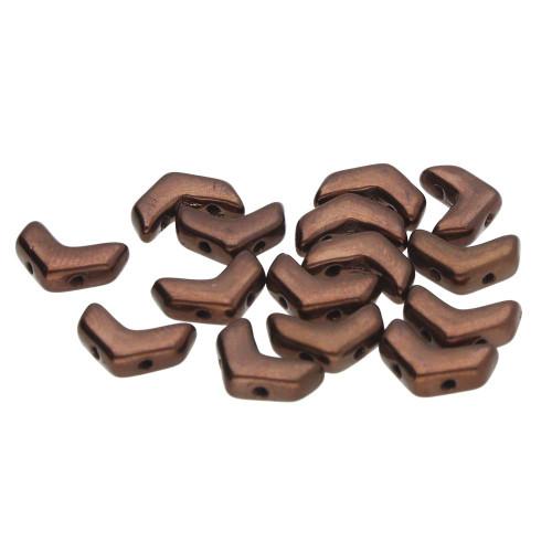 Chevron Duos, Dark Bronze (Qty: 30)