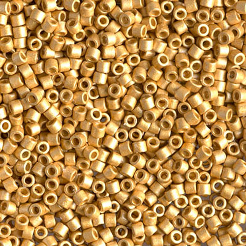 Size 10, DBM-1832F,  Duracoat Galvanized Matte Gold (10 gr)