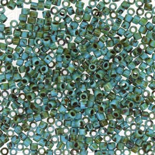 Size 10, DBM-2264, Turquoise Picasso (10 gr.)