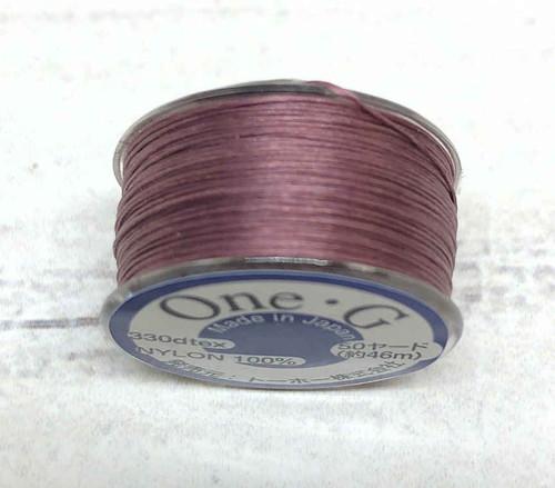 One G Thread - Mauve (50 yds.)