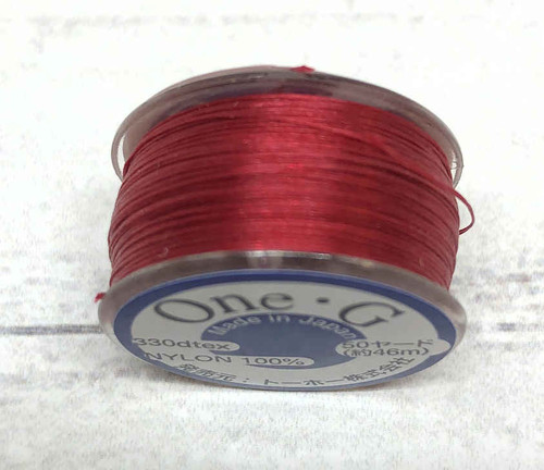 One G Thread - Red (50 yds.)