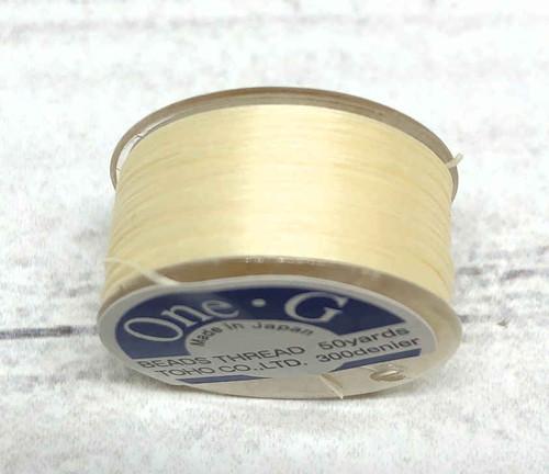 One G Thread - Cream (50 yds.)