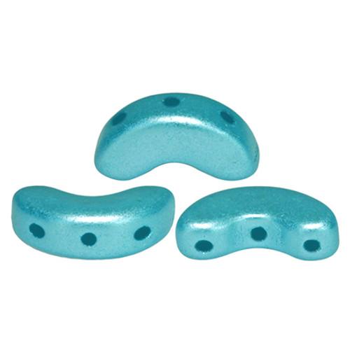 Arcos par Puca Beads, Pastel Aqua (5 x 10mm) (Qty: 25)