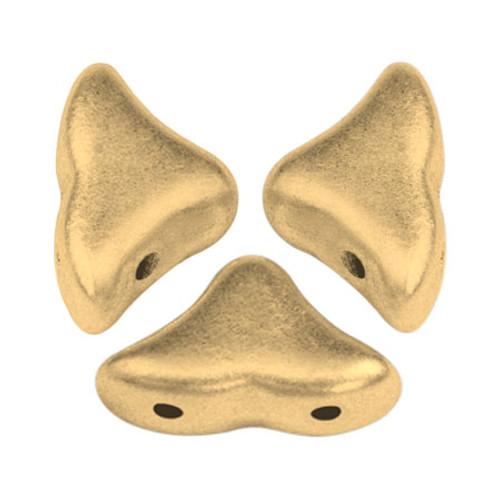 Helios par Puca Beads, Aztec Gold (Light Gold Matte) (Qty: 25)