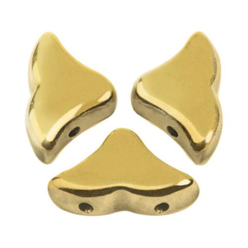 Helios par Puca Beads, Full Amber (Full Dorado) (Qty: 25)