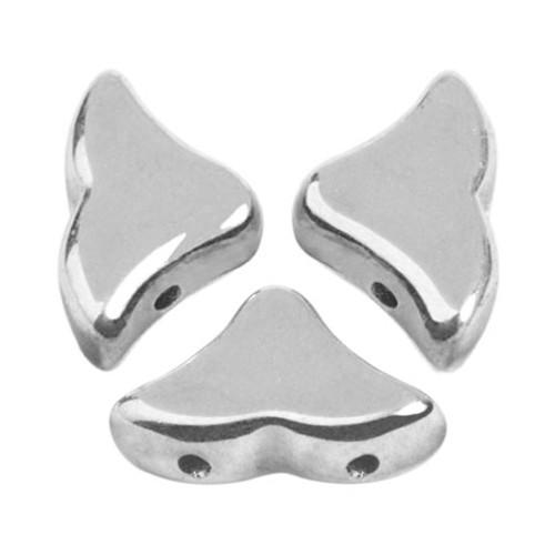Helios par Puca Beads, Full Labrador (Argentees/Silver) (Qty: 25)