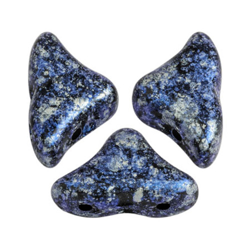 Helios par Puca Beads, Tweedy Blue (Qty: 25)