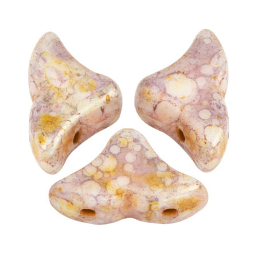 Helios par Puca Beads, Rose Gold Ceramic (Qty: 25)