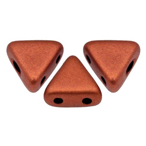 Kheops par Puca Beads, Copper (Bronze Red Matte) (6mm) (Qty: 25)