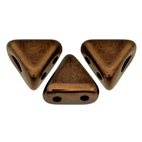 Kheops par Puca Beads, Dark Bronze (6mm) (Qty: 25)