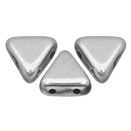 Kheops par Puca Beads, Full Labrador (Argentees/Silver) (6mm) (Qty: 25)