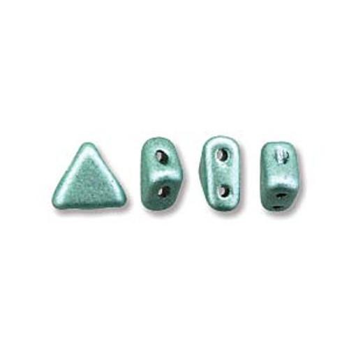 Kheops par Puca Beads, Metallic Green (6mm) (Qty: 25)