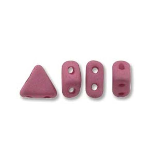 Kheops par Puca Beads, Opaque Amethyst Silk Matte (6mm) (Qty: 25)