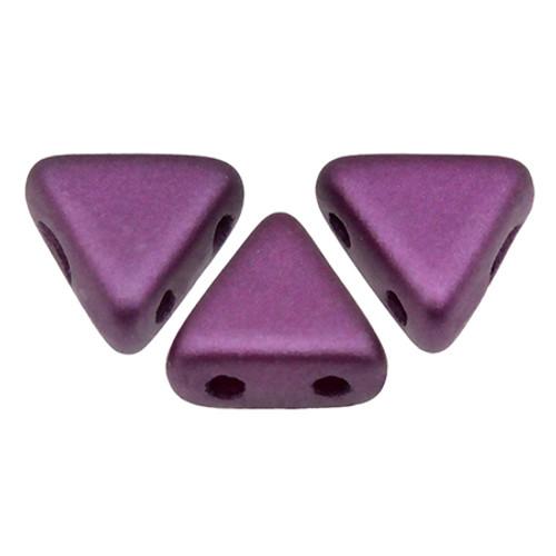 Kheops par Puca Beads, Pastel Bordeaux (6mm) (Qty: 25)