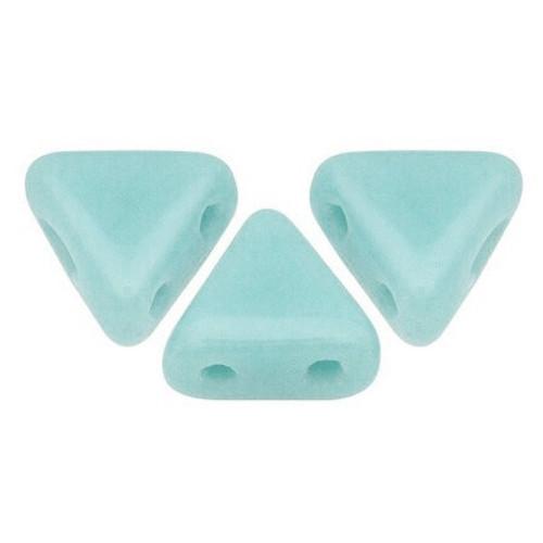 Kheops par Puca Beads, Pastel Light Azore (6mm) (Qty: 25)