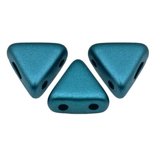 Kheops par Puca Beads, Pastel Petrol (6mm) (Qty: 25)