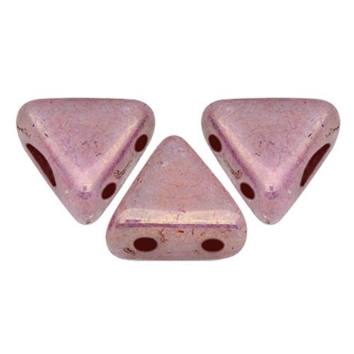 Kheops par Puca Beads, Violet Gold Luster (Opaque Mix Violet/Gold Ceramic) (6mm) (Qty: 25)