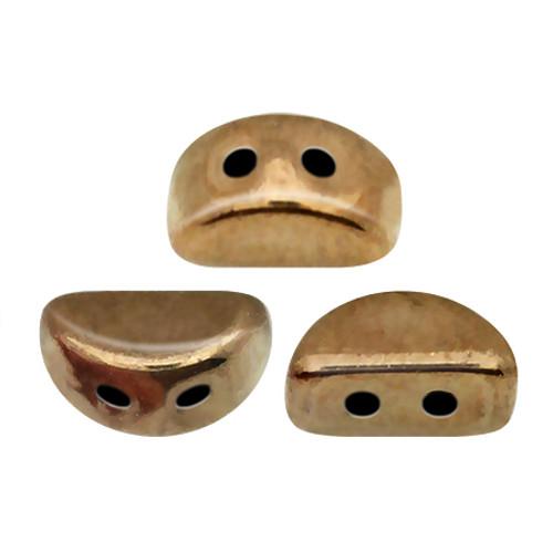 Kos par Puca Beads, Dark Gold Bronze (Qty: 25)