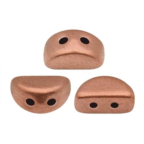 Kos par Puca Beads, Vintage Copper (Copper Gold Matte) (Qty: 25)