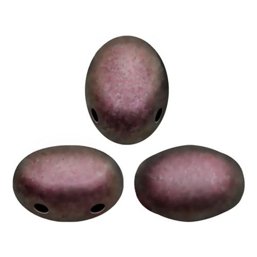 Samos par Puca Beads, Metallic Dark Violet (Qty: 25)