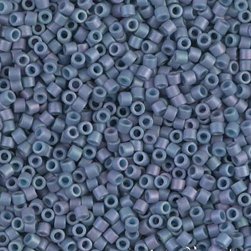 Size 10, DBM-0376, Matte Metallic Light Grey/Blue Blue AB (10 gr.)