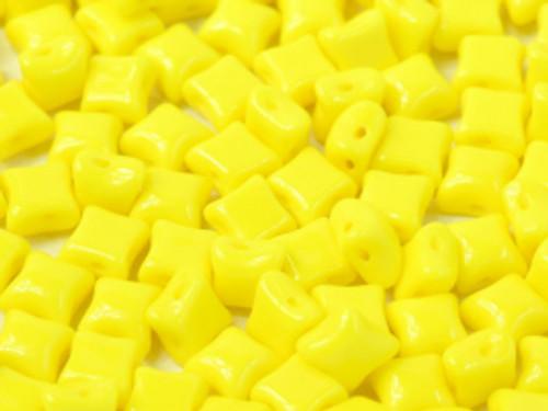 WibeDuo Beads, Lemon, 8 x 8mm (Qty: 25)