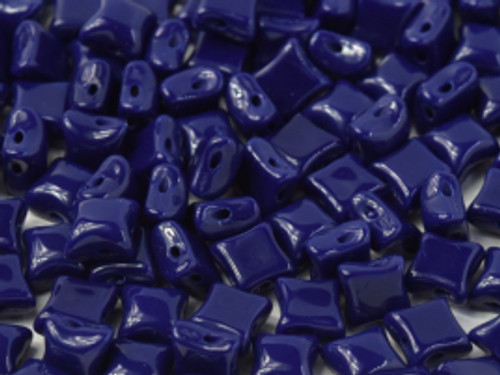WibeDuo Beads, Navy, 8 x 8mm (Qty: 25)