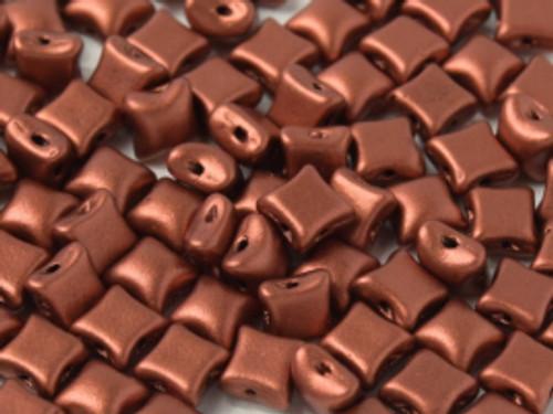 WibeDuo Beads, Copper, 8 x 8mm (Qty: 25)